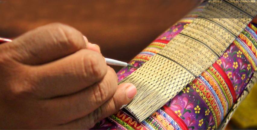 Las artesanías en Puebla