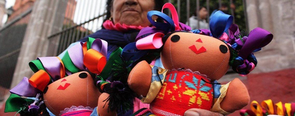 Muñecas de trapo, una tradición muy mexicana